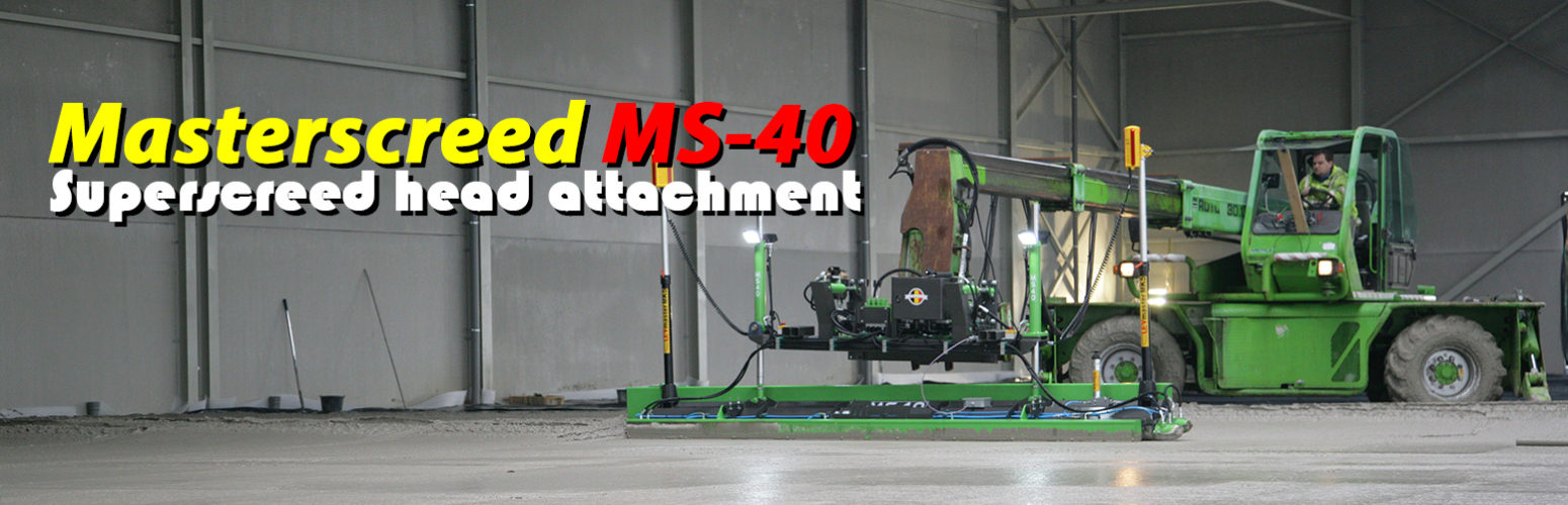 MS40 – Superscreed Head Attachment