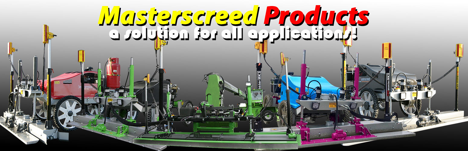 Masterscreed Products