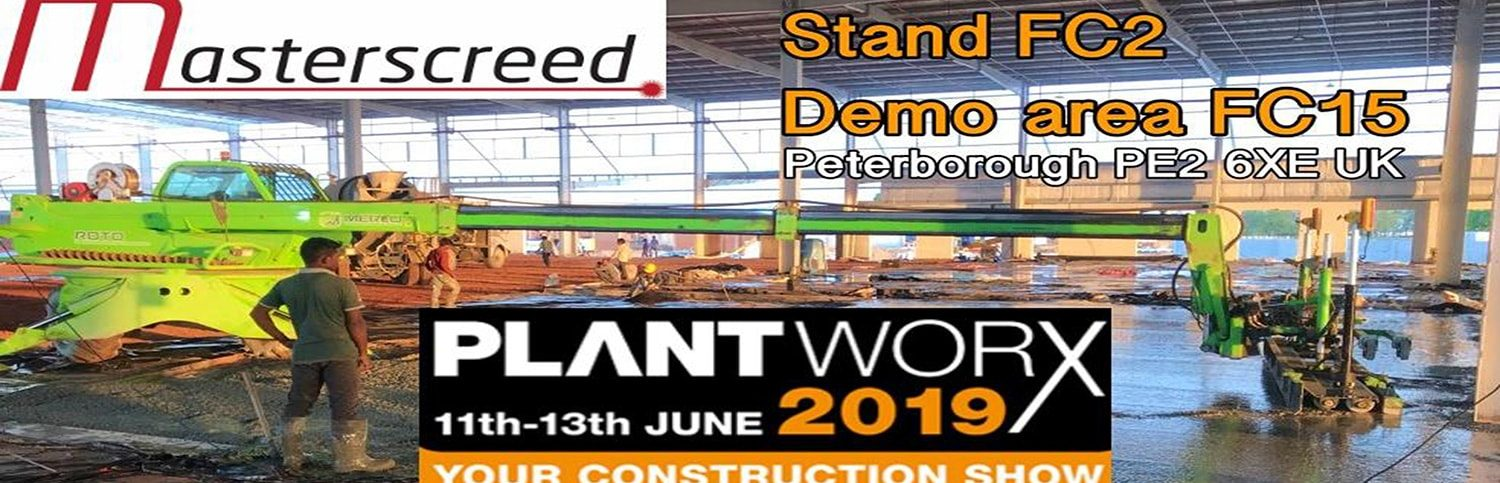 Plant Worx 2019 - Construction Show 2019 - Peterborough