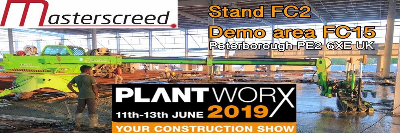 Plant Worx 2019 - Construction Show 2019 - Peterborough